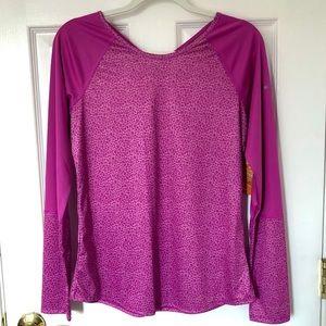 NEW Columbia omni shade women shirt Medium